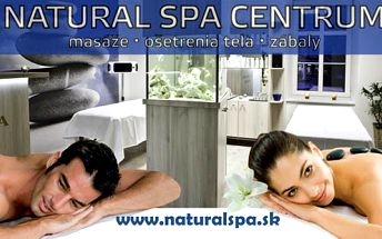 Masáž lávovými kameňmi alebo klasická masáž , + bankovanie po 30 minút. Zaslúžené uvoľnenie a relax pre Vaše telo v NATURAL SPA CENTRE v Poprade! Vyberte si jednu z masážnych procedúr, len za 8,99 €!
