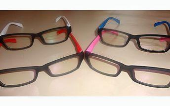Pořiďte si i vy perfektní módní doplněk,nedioptrické brýle v modré, červené, bílé či růžové barvě za pouhých 85 Kč!