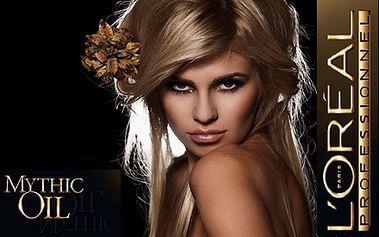 Nový strih a luxusný Mythický rituál olejov od L´ORÉAL teraz so zľavou 45%. Doprajte Vašim vlasom výživu, lesk a hebkosť v salóne Evelyn Style v Žiline. Ideálna regenerácia vlasov s regeneračnou masážou hlavy, ramien a šije len za 10,70 €.