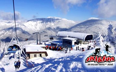 Len 69 € za pobyt v hoteli SKI&FUN**JASNÁ, v Demänovskej Doline! Prežite vo dvojici 3 krásne dni plné relaxu a zábavy v Nízkych Tatrách! Ideálne miesto na rodinnú dovolenku...