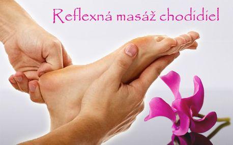 30-minútová reflexná masáž chodidiel za úžasnú cenu len 4,90 €! Načerpajte energiu a zharmonizujte svoje telo pre reflexnej masáži so zľavou 51%!