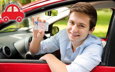 Řidičský průkaz sk. B + 2 jízdy ZDARMA
