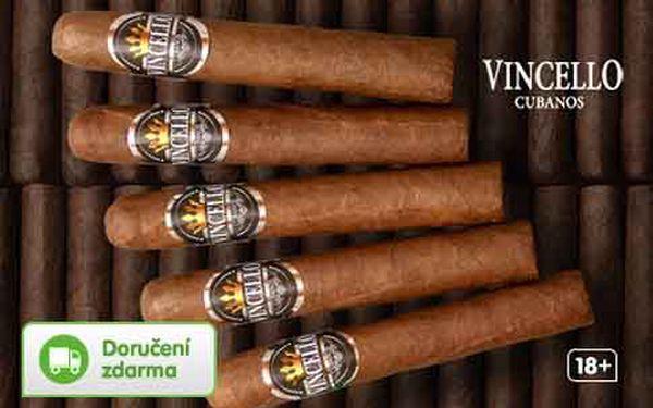 5 doutníků Vincello Cubano – poštovné zdarma