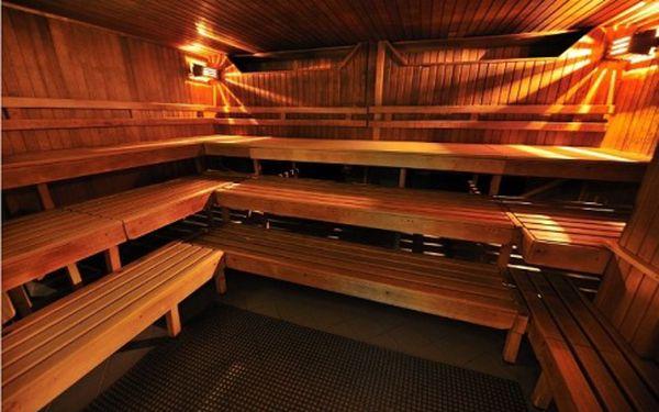 Dvouhodinový vstup do sauny a odpočívárny