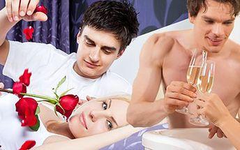Romantická noc pro DVA v hotelu s tantrickou partnerskou masáží, večeří, vířivkou a lahví sektu za pouhých 2500 Kč v Brně nebo ve Zlíně! Nebo vyzkoušejte jen partnerskou masáž pouze za 1499 Kč! Prožijte se svým partnerem nezapomenutelnou noc plnou výhod!