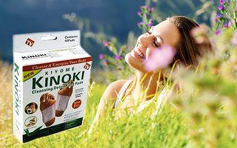 Kinoki detoxikačné náplaste so zľavou až 71%! Zbavte sa všetkých toxínov a škodlivých látok - Kinoki podstatne znižujú únavu a zvyšujú energiu! V cene už aj poštovné.