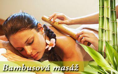 25 min bambusová masáž chrbta a končatín, + 5 min relax na lôžku... Doprajte si po celom dni uvoľnujúci relax, teraz len za 9,9 €!