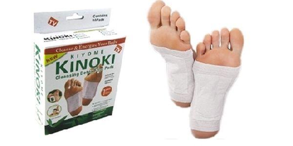 Dopřejte si očistu organismu s 20ks detoxikačních náplastí KINOKI. Doručení v ceně !