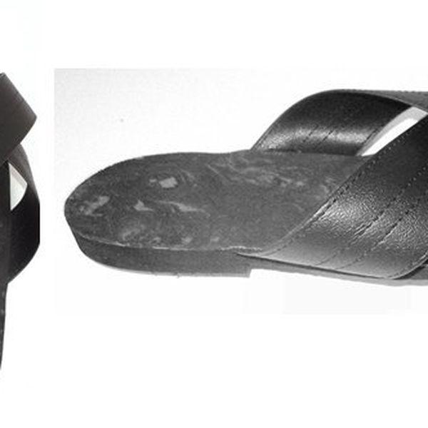 Kvalitní a pohodlná obuv typu KŘIŽÁK vhodná do bytu i na venkovní použití od českého výrobce. Cenavčetně poštovného!