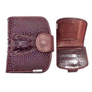 Dámská módní KOŽENÁ PENĚŽENKA Temanli Crocodile z kvalitní hovězí kůže + ZDARMA dárková krabička!