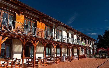 3denní relax u Lipenského jezera v moderních apartmánech pro 2 osoby