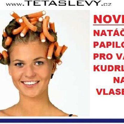 Chytré natáčky papiloty pro Vaše lokýnky na vlasy za 140kč poštovné je v ceně akce