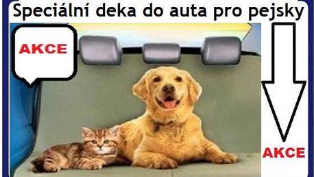 Speciální deka do auta pro psy a kočky již žádné chlupy v autě za cenu 249kč poštovné je již v ceně akce