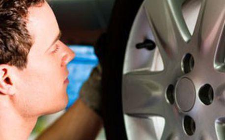 Brno: Kompletní přezutí vozu na zimní pneu, dohuštění pneu + kontrola brzdového systému JEN za 199 Kč v Servise Nebovidy!