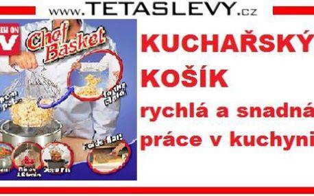 Kuchařský košík na těstoviny vám usnadní práci ve vaší kuchyni za 159 kč poštovné je v ceně akce