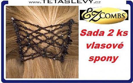 Vlasové spony 2kusy EZ combs Vás udělá krásnou za cenu 139kč poštovné je již v ceně akce