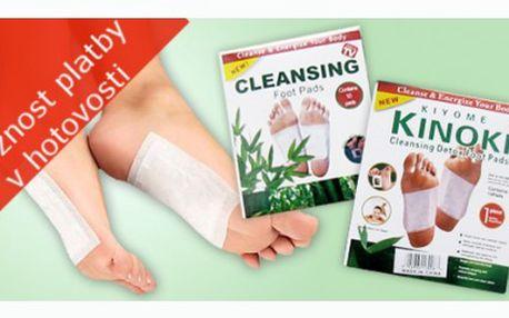 Sada 30 detoxikačních náplastí Kinoki za cenu, která nemá konkurenci! Pouhých 75 Kč!!! Využijte slevy 75% a získejte tyto skvělé náplasti, které Vám pomohou detoxikovat organismus.