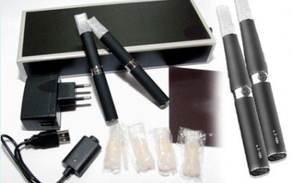 Kouření elektronické cigarety nikdy nebylo jednodušší. 2x elektronická cigareta za skvělou cenu 389 Kč. Liquid dokapáváte přímo do cartridge místo do vatičky.