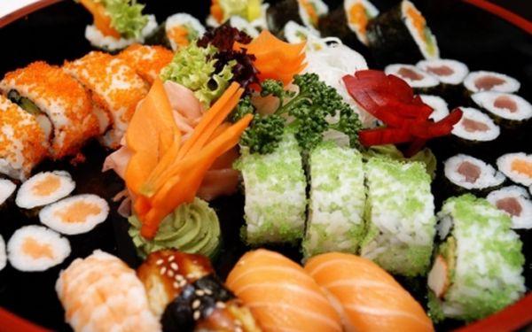 SUSHI YO na Andělu! Sushi, včetně sushi setů a další korejsko-japonské speciality dle Vašeho výběru a nápoj SAKÉ nyní s 51% slevou! Ochutnejte tu pravou exotiku!
