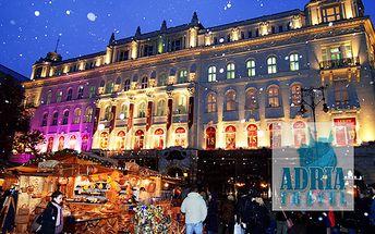 Zažite krásu Budapešti v predvianočnom období!, Vychutnajte si Vianočný punč a dobroty počas vianočných trhov priamo v Budapešti, len za 18 €!