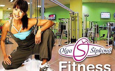 VIP členství ve fitness Olgy Šípkové! 30denní permanentka, využít můžete veškeré služby fitness!