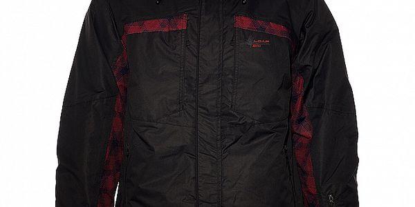 Pánská černá lyžařská bunda Loap