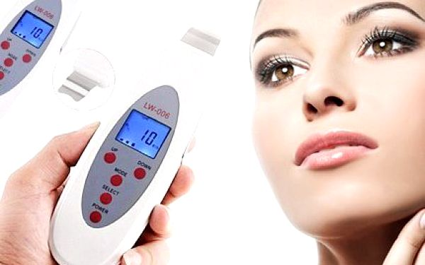 Ultrazvuková špachtle! Každodenně vyhlazená a čistá pleť díky ultrazvukové špachtli!