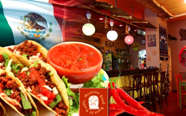 MEXICKÉ DEGUSTAČNÍ MENU pro 2 OSOBY za vynikajících 270 Kč! Mísa o průměru 75 cm plná mexických specialit! Poznejte lahodnou kuchyni střední Ameriky a už nikdy jí nedáte sbohem! Oblíbená akce je opět tady! Sleva 56%!