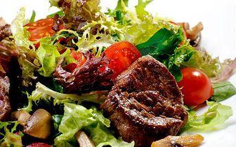 600 g steaků a zeleninka! Pochutnejte si na vepřových i kuřecích steacích za super cenu!