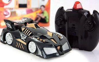 Exkluzívna hračka pre vaše dieťa ako vystrihnutá zo sci-fi filmu! Revolučné antigravitačné autíčko na diaľkové ovládanie, ktoré jazdí i po stenách získate len za 19,90€!