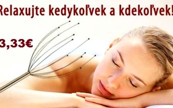 Head Massager - masáž hlavy teraz so zľavou až 67%!!!