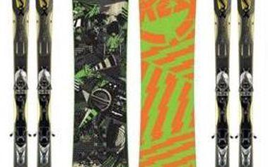"""Brno: Lyžaři i """"nelyžaři""""! Boty + lyže + hůlky (nebo snowboard + boty) 3denní půjčení za 349 Kč, na TÝDEN JEN ZA 698 Kč. Na víkend či na týden? Lyže od nás!"""