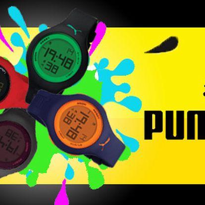 Štýlové hodinky Puma len za 27 € vrátane poštovného! Buďte originálni a vždy štýloví s týmito skvelými hodinkami so zľavou 45%!
