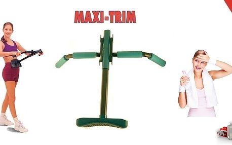 Maxi je novinkou mezi domácími posilovacími stroji.