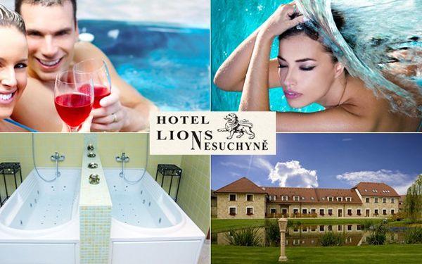 Wellness a hýčkání v nádherném Hotelu Lions