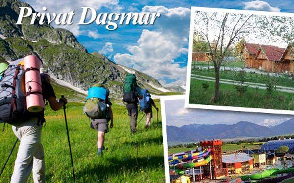 4 dňový pobyt pre 2 až 5 osôb v chatkách v prekrásnej prírode Nízkych Tatier pri Aquaparku Tatralandia s vynikajúcimi bryndzovými haluškami iba za 79€.