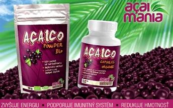 Balenie AÇAICO na 1 mesiac - budujte silný imunitný systém a objavte silu najzdravšieho ovocia na svete z amazonského pralesa a jeho pozitívny vplyv na vaše zdravie!