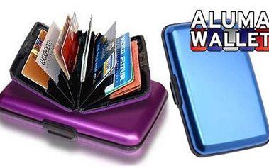 125 Kč včetně doručení za vynikající pouzdro na doklady a peníze, které se vám vejde do kapsy či tašky! Aluma Wallet - praktické pouzdro na kreditní karty!