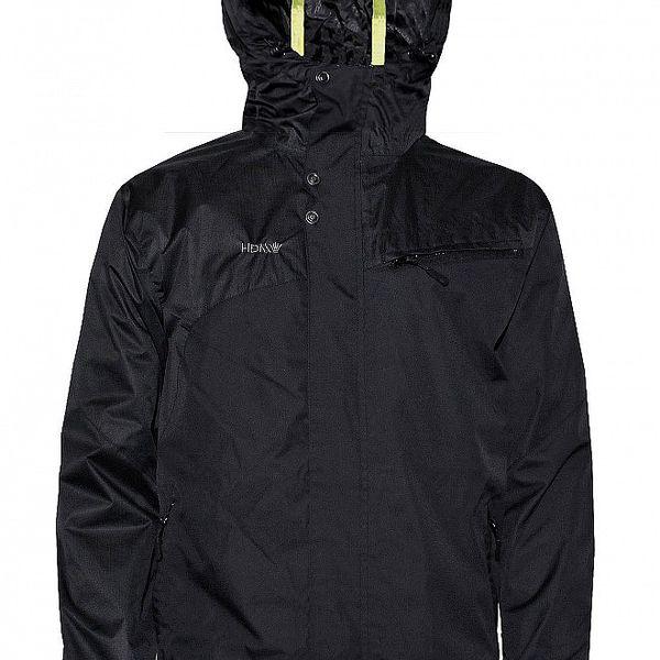 Pánská streetová jarní bunda značky Humdrum v černé barvě