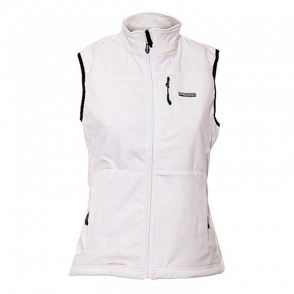 Dámská technická vesta Envy v bílé barvě