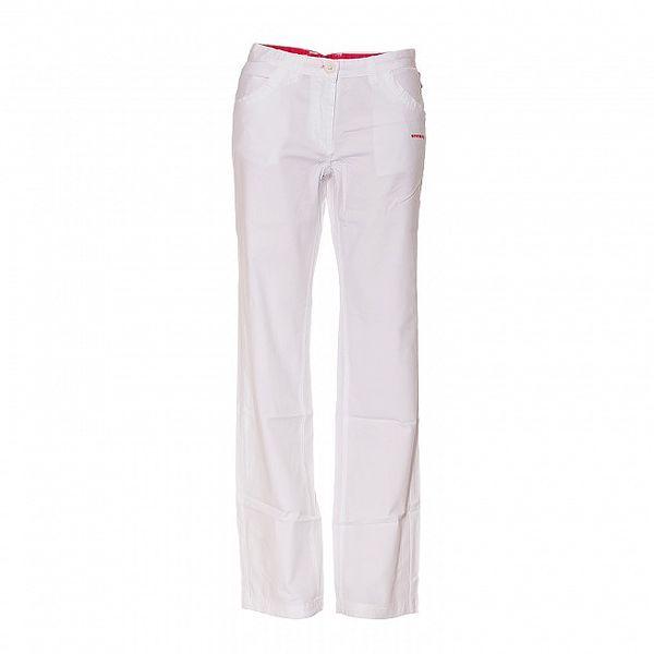 Dámské vycházkové kalhoty Envy v bílé barvě