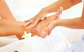 60minutová péče o vaše nohy! Peeling, masáž a ošetření kuřích ok a otlačenin.