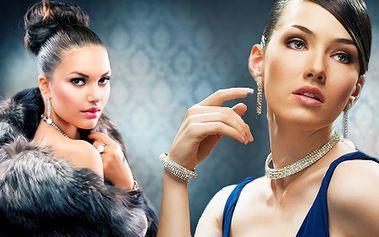 Slávnostný účes, líčenie alebo modelácia gélových nechtov so zľavou 56% v salóne AME! Buďte na plese, večierku či stužkovej dokonale upravená a krásna!
