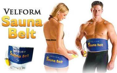Sauna Belt vám pomôže zredukovať celulitídu a taktiež pomáha pri bolestiach chrbtice a svalov! Dostaňte sa do formy rýchlo a jednoducho. V cene aj poštovné!