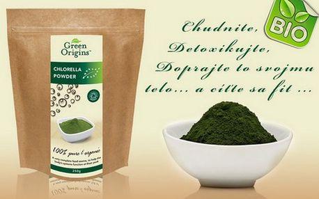 Detoxikujte svoje telo pomocou Chlorelly! Svojím nutričným bohatstvom a schopnosťou podporovať detoxikáciu zvyšuje imunitu a zbavuje telo škodlivých látok!