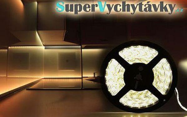 5 metrový LED pás do interiérov aj exteriérov len za 16,99 €! Moderné a zároveň aj dekoračné osvetlenie, ktoré vytvorí príjemnú atmosféru - nízka spotreba a jednoduchá montáž!