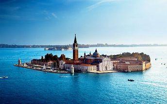 3denní zájezd do Benátek! Doprava luxusním autobusem, prohlídka města a romantická atmosféra!
