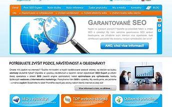 Nejlevnější dynamické webové stránky DELUXE v ČR s optimalizací pro vyhledávače a neomezeným počtem schránek.