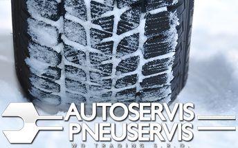 Kompletné prezutie pneumatík alebo nastavenie geometrie.
