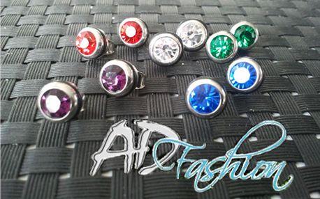 Ozdobte svoje ušká vkusnými šperkami z kvalitnej chirurgickej ocele len za 3,60 € vrátane poštovného! Vyberte si náušnice v piatich rôznych farebných prevedeniach a zažiarite so zľavou 50%!